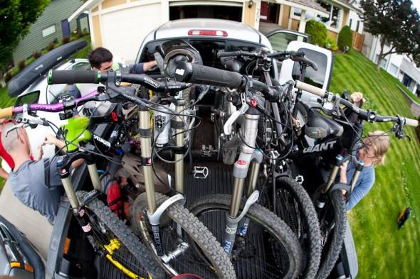 Bike transport - Canadian style
