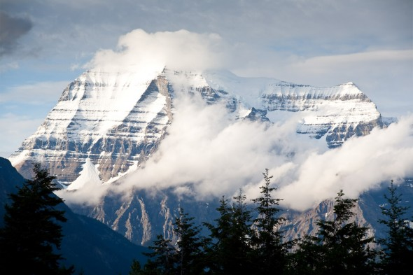 Mt Robson from the highway