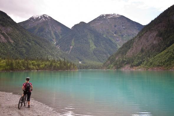 Kinney Lake, 5 km in