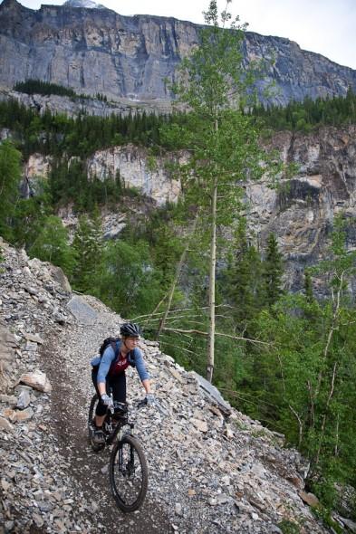 Sweet alpine mountain biking!