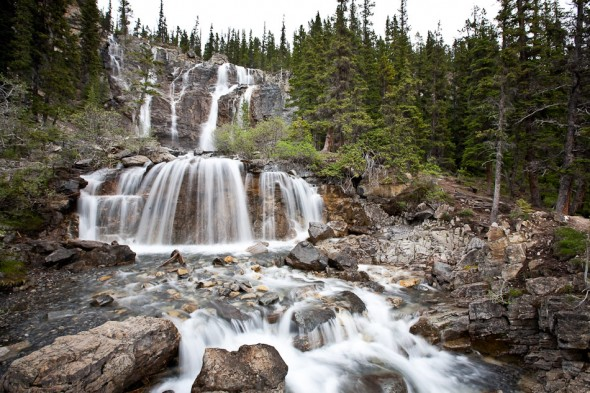 Waterfall, Icefields Parkway