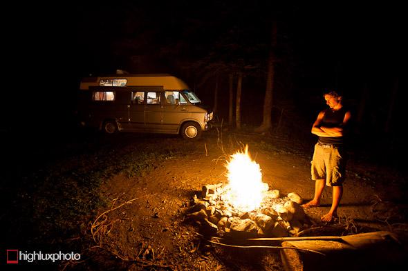 Campfire, Montana.