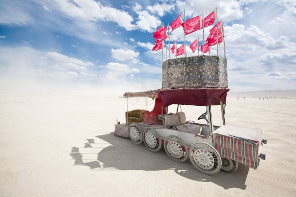 Art Car/Monster Vehicle - one of hundreds on the playa