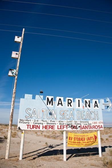 Salton Sea Signage
