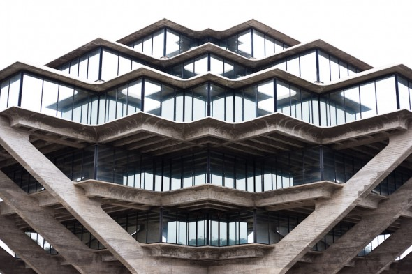 Giesel library at the University of somethingorother. Wicked building