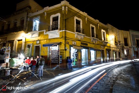 Street scene, Guanajuato.
