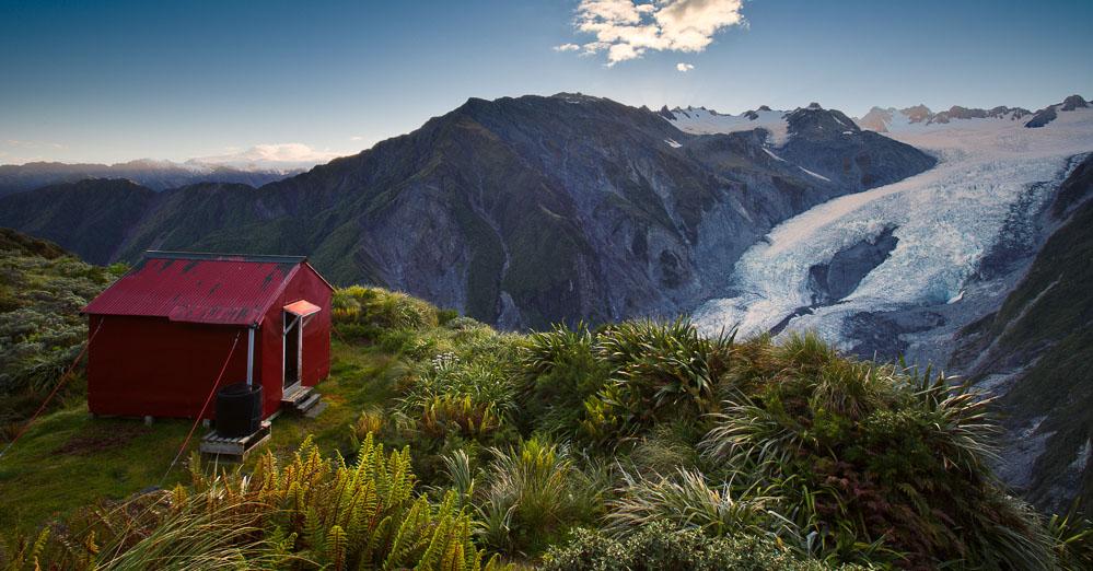 Franz Josef Glacier & Castle Rocks Hut, Highlux Photography