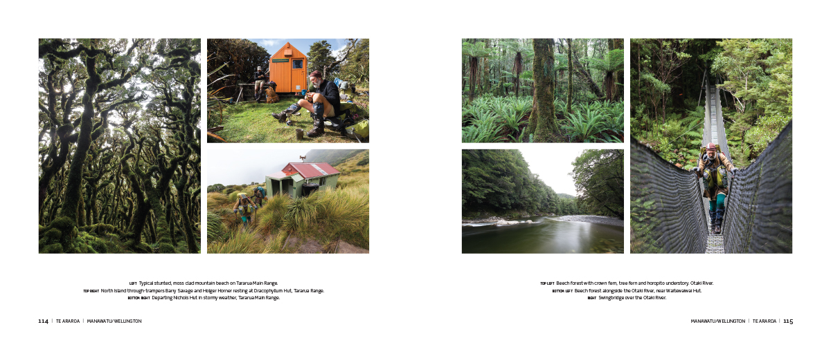 Te Araroa book, Highlux Photography