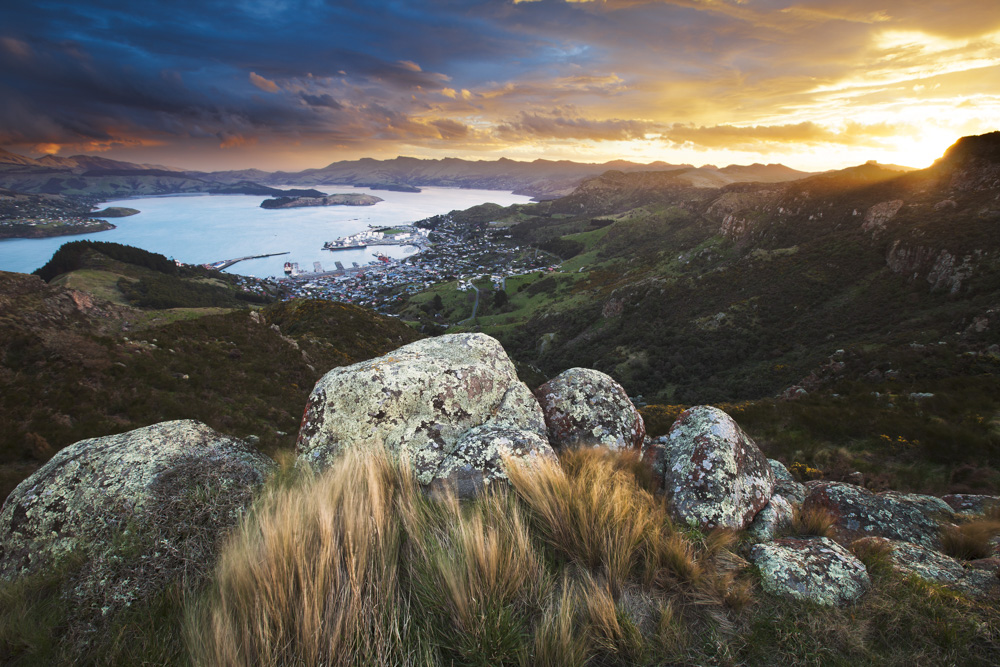 Lyttelton Harbour/Whakaraupo and Crater Rim, Christchurch