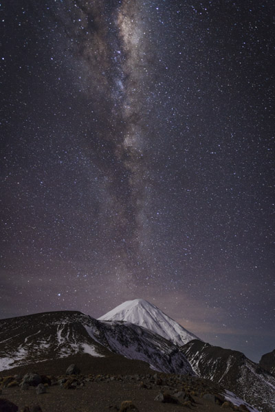 Milky Way & Mt Ngauruhoe