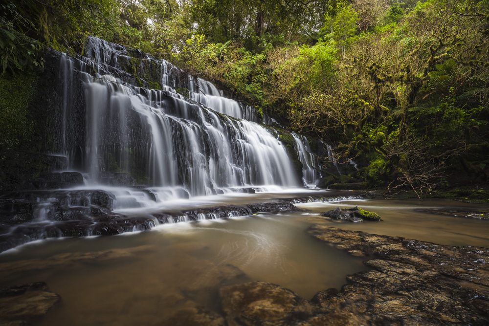 Purakanui Falls. Catlins, Otago