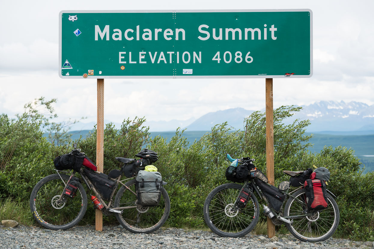 From Maclaren Summit we had another XXXXX km of hilly riding and then a great descent to Paxson at the highway. But it was heads down in steady rain for much of the way.