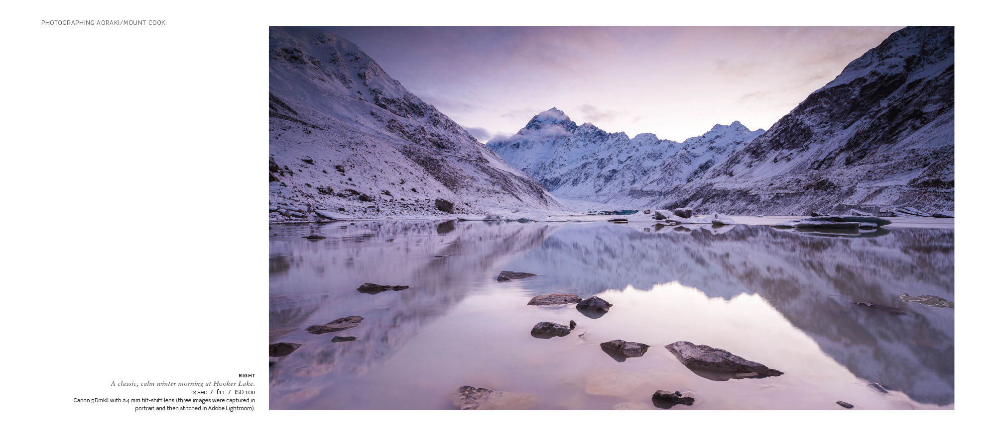 Photographing Aoraki Mount Cook, Highlux Photography