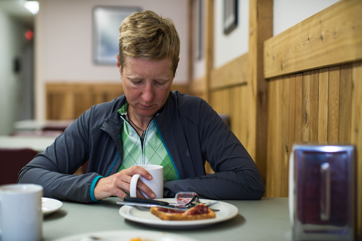 We found some lunch in Meziadin before turning off down the mountain road towards Stewart. On a road like the Stewart Cassiar, and like much of the rest of our travels through Alaska and Canada so far, any kind of sit down meal is a much anticipated treat.