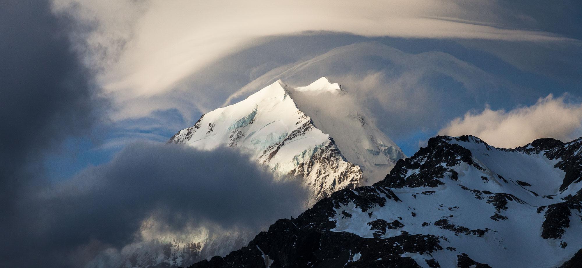 Photographing Aoraki Mount Cook