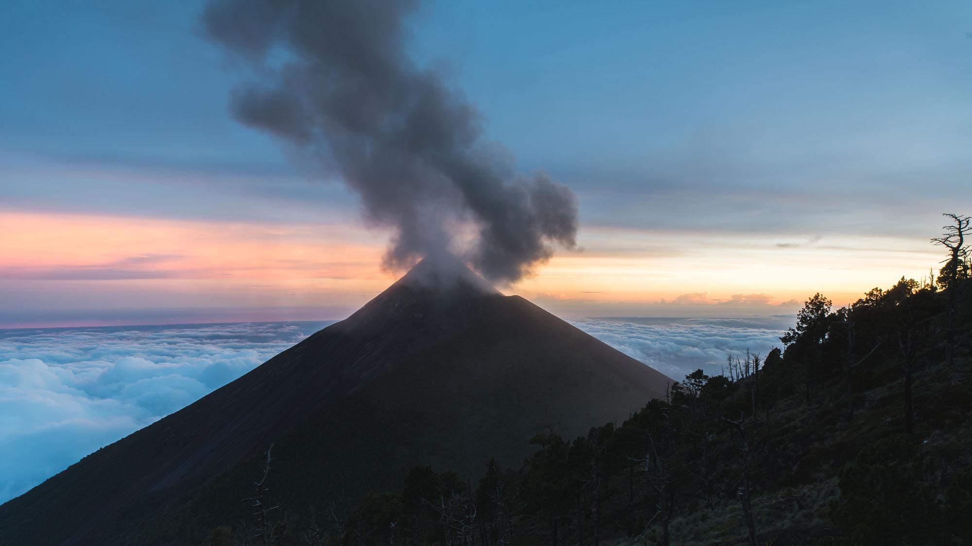 Climbing Volcán Acatenango