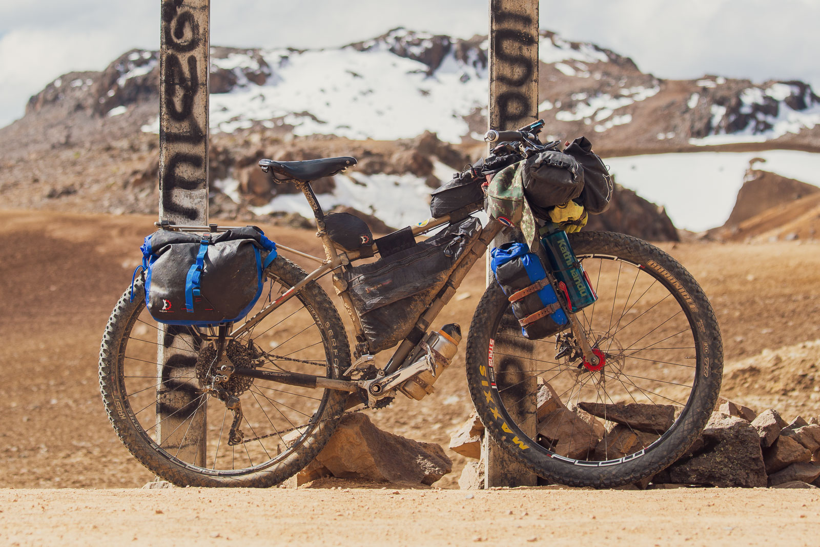 Andes Bikepacking Gear List, Highlux Photography