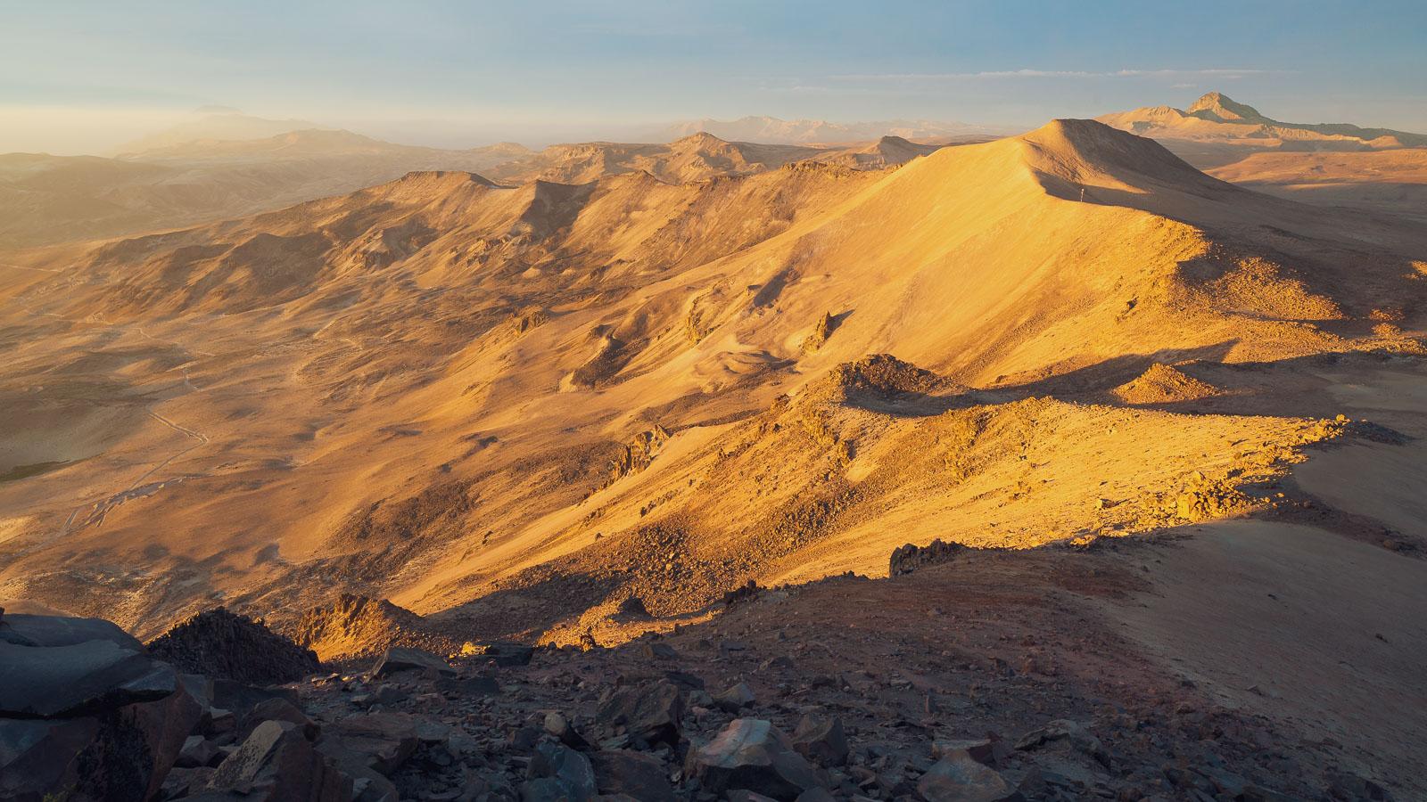 Perú: Desaguadero – Arequipa via Volcan Ticsani