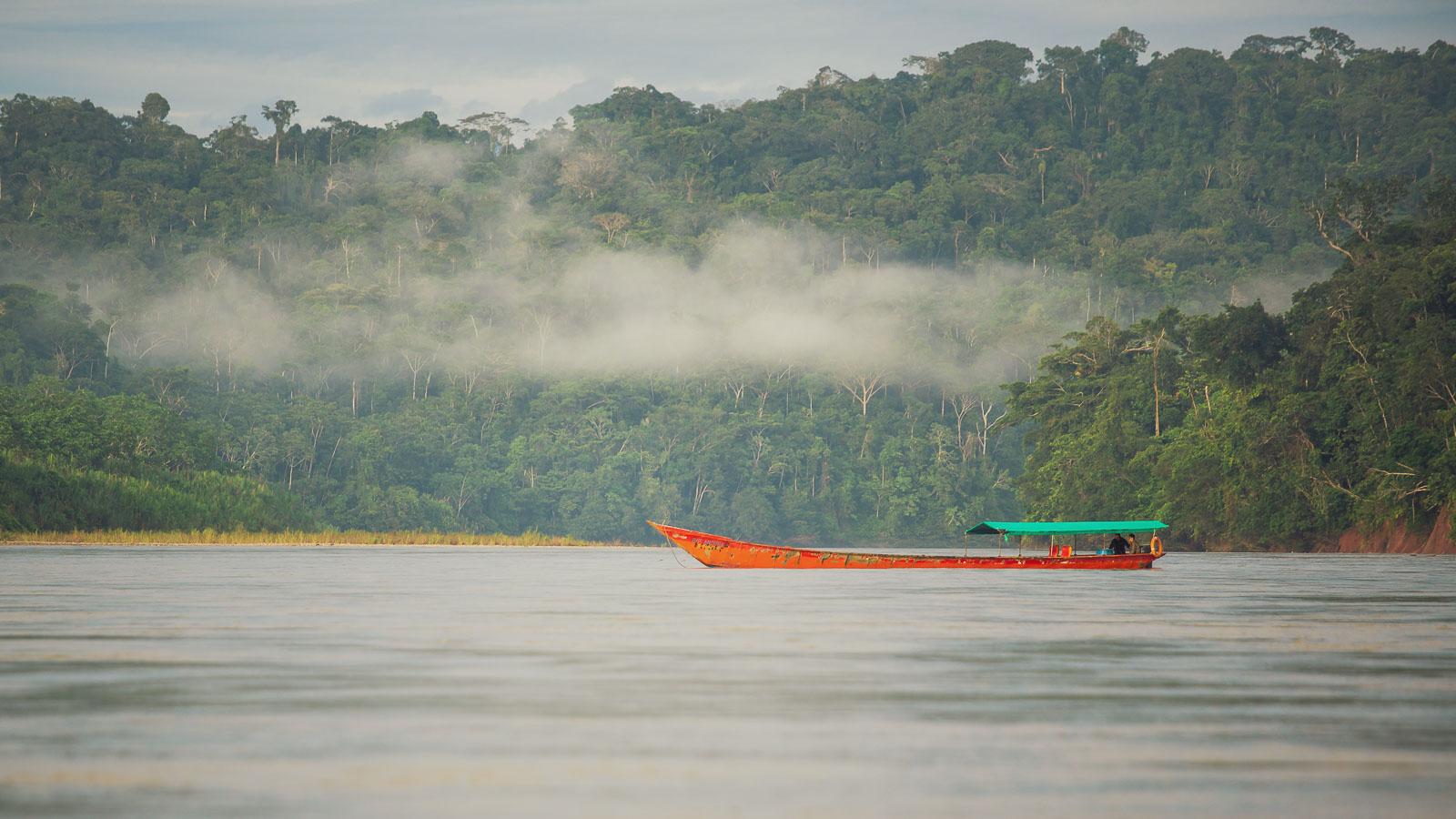 Perú: Espiritu Pampa – Atalaya via the Rio Urubamba