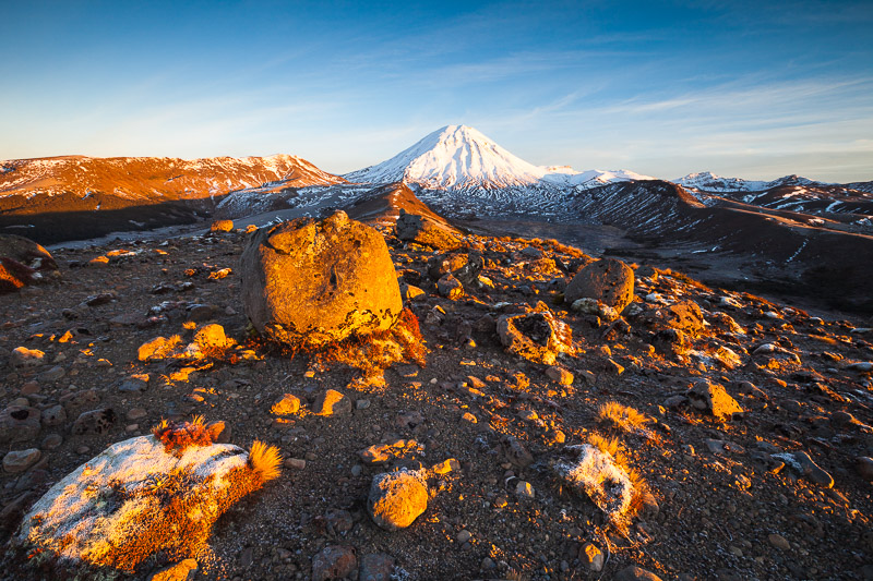 Mount Ngauruhoe, Tongariro National Park