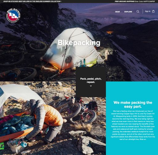 Big Agnes Website Images Mark Watson Highlux Photography