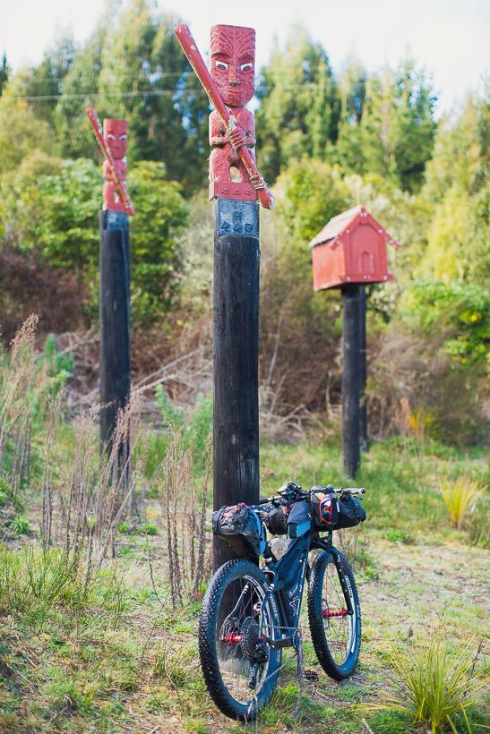 bikepacking photography, new zealand bikepacking