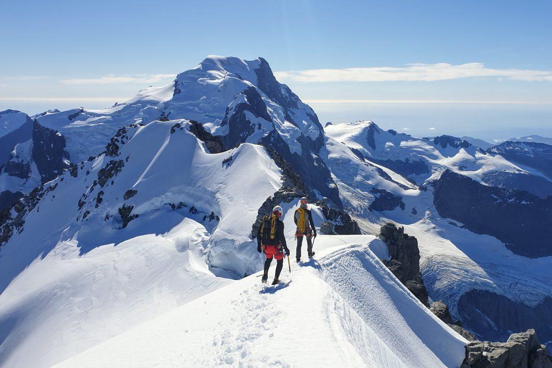 Summit Ridge of Mt Madeline, Darran Mountains